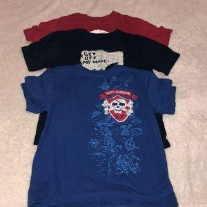 Set of 3 boys T-shirts